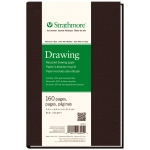 "Strathmore 5 1/2"" x 8 1/2"" Sewn Bound Recycled Drawing Art Journal"
