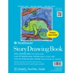 "Strathmore 8 1/2"" x 11"" Wire Bound Story Drawing Book"