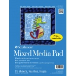 "Strathmore 9"" x 12"" Tape Bound Mix Media Pad"