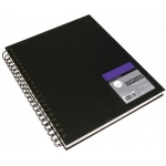 "Cachet® Simply™ Sketchbook 8.5"" x 11"" Soft White Paper Wirebound: White/Ivory, Book, 80 Sheets, 8 1/2"" x 11"", Sketching"