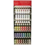 Gamblin Artists' Grade FastMatte Oil Paint Display Assortment