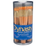 Dynasty Flat Shader and Detail Round Brush Assortment