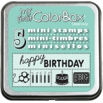 My First ColorBox® Mini Stamp Set Birthday: Foam, No, (model CS68206), price per each