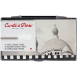 Conte™ Pastel Crayons White HB: White/Ivory, Crayon, Drawing, (model C50233), price per pack