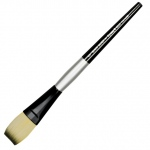 Dynasty® Black Silver® Blended Synthetic Watercolor Brush Stroke 1: Short Handle, Bristle, Stroke, Watercolor, (model FM32802), price per each