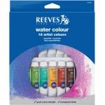 Reeves™ 10ml Watercolor Paint 18-Color Set: Multi, Tube, 10 ml, Watercolor, (model 8494251), price per set