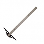 "Alvin® SST Series 18"" Stainless Steel Professional Graduated T-Square: Steel, 18"", T-Square, (model SST18), price per each"