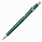 Pentel® Sharp™ 0.5mm Black Barrel Drafting Pencil: Black/Gray, .5mm, Mechanical, (model P205-A), price per each