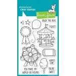 Lawn Fawn Admit One Stamp Set