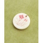Making Memories Vintage Groove by Jill Schwartz Pendants: Wildflower