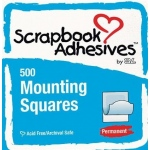 Scrapbook Adhesives by 3L Mounting Squares Boxed: White, 500 Pieces