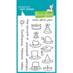 Lawn Fawn Hats Off to You Stamp Set