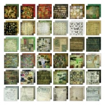 Advantus Tim Holtz Ideaology Paper Stash: Mini Stash, Collage