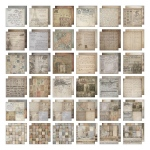 Advantus Tim Holtz Ideaology Paper Stash: French Industrial