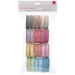 American Crafts Bakers Twine: 24 Spools, Value Pack