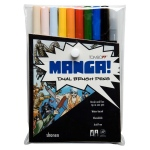 Tombow Dual Brush Pen: Manga Shonen, 10 Color Set