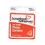 Scrapbook Adhesives by 3L Photo Corners Polypropylene: Clear