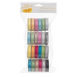 American Crafts Ribbon Value Pack: Amy Tangerine, 24 Spools