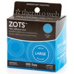 Thermoweb Zots: Large, 300 Dots