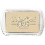Clearsnap ColorBox Fluid Chalk Full Size Pad: Creamy Brown
