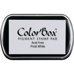 Clearsnap ColorBox Pigment Ink Full Size Pad: Frost White