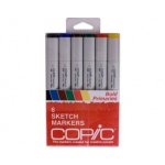 Copic Sketch Markers Set: Bold Primaries