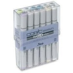 Copic Sketch Set: 12 Pieces, EX-4, #0538