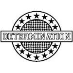 Stampers Anonymous Teresa Collins Designs Sports Edition: Determination Stamp