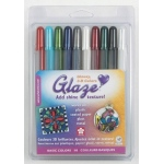 Sakura of America Glaze Pens Set: Basic, 10 Pieces