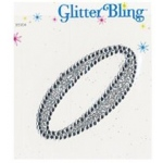 Making Memories Glitter Bling Monogram Script: 0