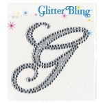 Making Memories Glitter Bling Monogram Script: G