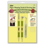 McGill Inc. Paper Blossoms Paper Shaping Tools and Piercing Mat Set
