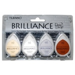 Tsukineko Brilliance Dew Drop: Planetarium, Pack of 4