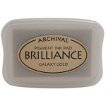 Tsukineko Brilliance Pads: Galaxy Gold