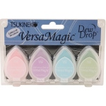 Tsukineko VersaMagic Dew Drops: Pretty Pastel, Pack of 4