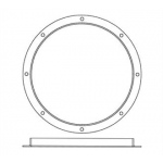"Paasche BE-54 Vent Ring 24"" Inches"