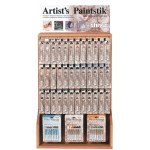 Shiva® Paintstik® Oil Paint Artist Color Display Full Assortment: Multi, Stick, Oil, (model SP121254), price per each