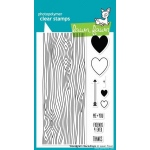 Lawn Fawn Stamp Set: Woodgrain Backdrops