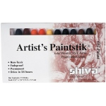 Shiva® Paintstik® Oil Paint Artist Color 12-Piece Professional Set: Multi, Stick, Oil