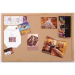"Ghent® Wood Frame Traditional Cork Bulletin Board 18"" x 24"": 18"" x 24"", Cork Board, (model 1418-1), price per each"