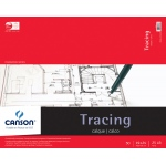 "Canson® Foundation Series 19"" x 24"" Tracing Paper Pad: Fold Over, White/Ivory, Pad, 50 Sheets, 19"" x 24"", Smooth"