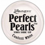 Ranger Perfect Pearls: Open Stock, Confetti White