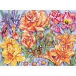 "Reeves™ Large Acrylic Painting By Numbers Set Floral: 12"" x 15 1/2"", (model PL63), price per each"