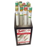 "Fredrix® Roll Canvas Silver Display Assortment: Metallic, Roll, 18 1/2""d x 23 1/2""w x 48""h, Display"