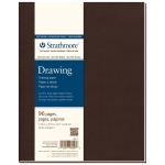 "Strathmore® 400 Series Soft Cover Drawing Journal 7.75"" x 9.75"": Sewn Bound, White/Ivory, Journal, 96 Pages, 7 3/4"" x 9 3/4"", Medium, Drawing, 80 lb, (model ST482-7), price per each"