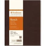 "Strathmore® 400 Series Soft Cover Sketch Journal 7.75"" x 9.75"": Sewn Bound, White/Ivory, Journal, 160 Pages, 7 3/4"" x 9 3/4"", Medium, Sketching, 60 lb"