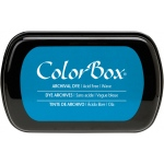 ColorBox® Full Size Archival Dye Ink Pad Wave: Blue, Pad, Dye-Based, Full Size Rectangle, (model CS27033), price per each