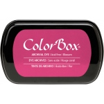 ColorBox® Full Size Archival Dye Ink Pad Blossom: Red/Pink, Pad, Dye-Based, Full Size Rectangle, (model CS27034), price per each