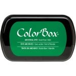 ColorBox® Full Size Archival Dye Ink Pad Irish: Green, Pad, Dye-Based, Full Size Rectangle, (model CS27035), price per each