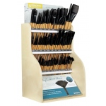 Princeton Catalyst Polytip Bristle Brush Display Assortment